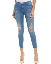 Hudson Jeans - Tally Sugarcoat Skinny Crop - Lyst