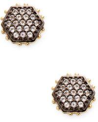 Alanna Bess Jewelry - Geometric Stud Earrings - Lyst