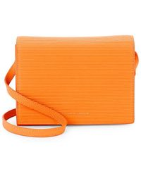 Victoria Beckham - Textured Leather Crossbody Bag - Lyst