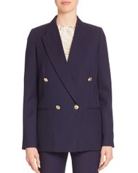 Victoria Beckham - Wool Tuxedo Blazer - Lyst