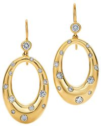 Kwiat - Cobblestone 18k 1.00 Ct. Tw. Diamond Drop Earrings - Lyst