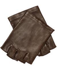 John Varvatos - Fingerless Sheepskin Leather Gloves - Lyst