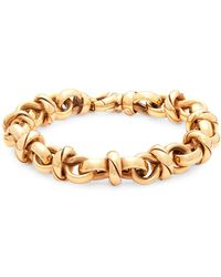 Roberto Coin - Yellow Gold Link Bracelet - Lyst