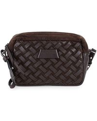 Liebeskind Berlin - Basket Weave Leather Crossbody Bag - Lyst