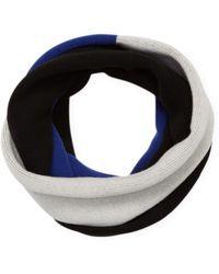 Proenza Schouler   Knit Colorblock Wool Scarf   Lyst