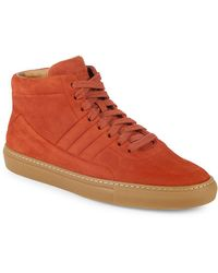 Bally - Hendal High-top Suede Trainers - Lyst
