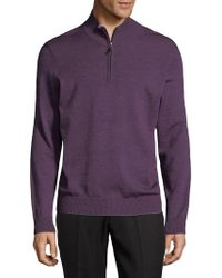 Thomas Dean - Half-zip Jumper - Lyst