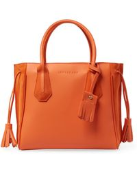 Longchamp - Penelope Fantaisie Leather Tote Bag - Lyst