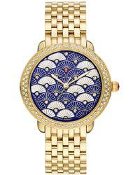 Michele - Diamond Serein Watch - Lyst
