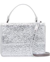 Deux Lux - Crinkle Metallic Crossbody Bag - Lyst