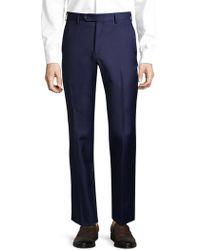 Lubiam - Wool Trousers - Lyst