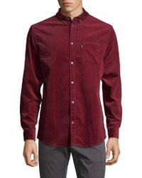 Wesc - Vance Velvet Sport Shirt - Lyst
