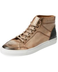 A'Louest - Lio Leather Hi-top - Lyst
