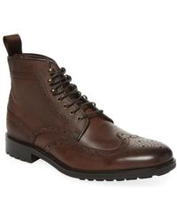 Marco Vittorio - Wingtip Lace-up Boot - Lyst