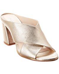 Kenneth Cole - New York Lyra Leather Sandal - Lyst