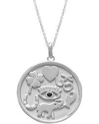 Gabi Rielle - Silver Necklace - Lyst