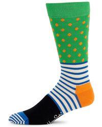 Happy Socks - Stripes And Dots Cotton Socks - Lyst