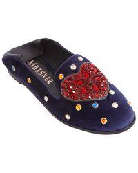 c0dc8c37ba6a Ivy Kirzhner - Embellished Studded Loafer - Lyst