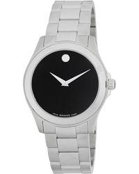 Movado - Stainless Steel Bracelet Watch - Lyst