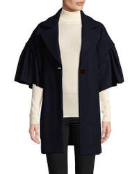 WHIT - Lou Wool Coat - Lyst