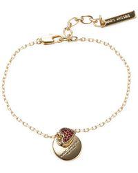 Marc Jacobs - Mj Coin Bracelet - Lyst