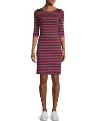 Saint James - Propriano Striped Shift Dress - Lyst