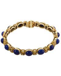Heritage Van Cleef & Arpels - Van Cleef & Arpels 18k Lapis Lazuli Bracelet - Lyst