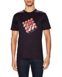 Lanvin - Cotton Slim Fit T-shirt - Lyst