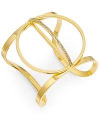 Paige Novick | Charlotte Open Circle Cuff Bracelet | Lyst
