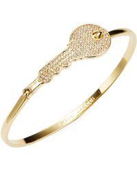 Marc Jacobs - Key Charm Cuff Bracelet - Lyst