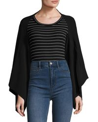 Temperley London - Stripe Crewneck Blouse - Lyst