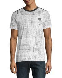 Antony Morato - Geometric-print Short-sleeve Tee - Lyst