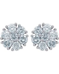 Diana M. Jewels - . Fine Jewelry 14k 0.75 Ct. Tw. Diamond Studs - Lyst