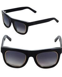 Westward Leaning - Pharoah 49mm Square Sunglasses - Lyst