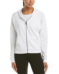 Betsey Johnson - Performance Zip Front Hoodie - Lyst