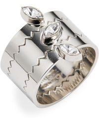 Vita Fede - Jigsaw Marquise Ring - Lyst
