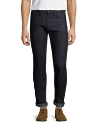 Naked & Famous - Super Skinny Guy Colour Block Jeans - Lyst