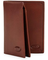 Bric's - Vertical Leather Wallet - Lyst