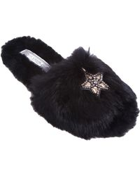 Ivy Kirzhner - Wonderful Fur Slippers - Lyst