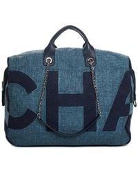 Chanel - Blue Canvas 2018 Maxi Shopping Bag - Lyst