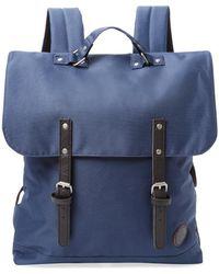 Enter # | Solid Flap Backpack | Lyst