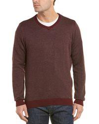 Ike Behar - Herringbone Sweater - Lyst