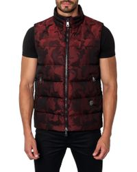 Jared Lang - Aspen Camo Down Puffer Vest - Lyst