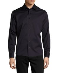 Tocco Toscano - Textured Woven Sportshirt - Lyst