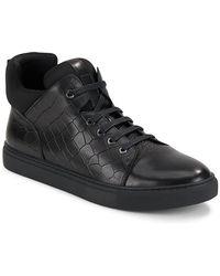 Zanzara - Remix High-top Leather Trainers - Lyst