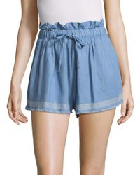 Suboo - Outlaw Shorts With Frills - Lyst