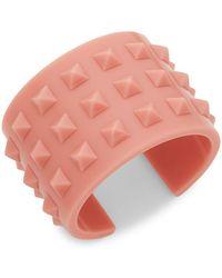 Valentino - Studded Bangle Bracelet - Lyst