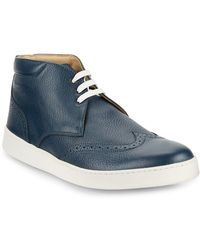 Bugatchi - Wingtip High-top Trainers - Lyst