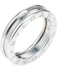bvlgari vintage bzero1 single band ring lyst