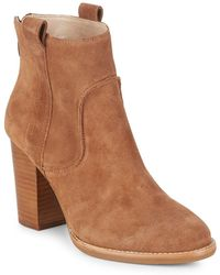 French Connection - Avabba Leather Booties - Lyst